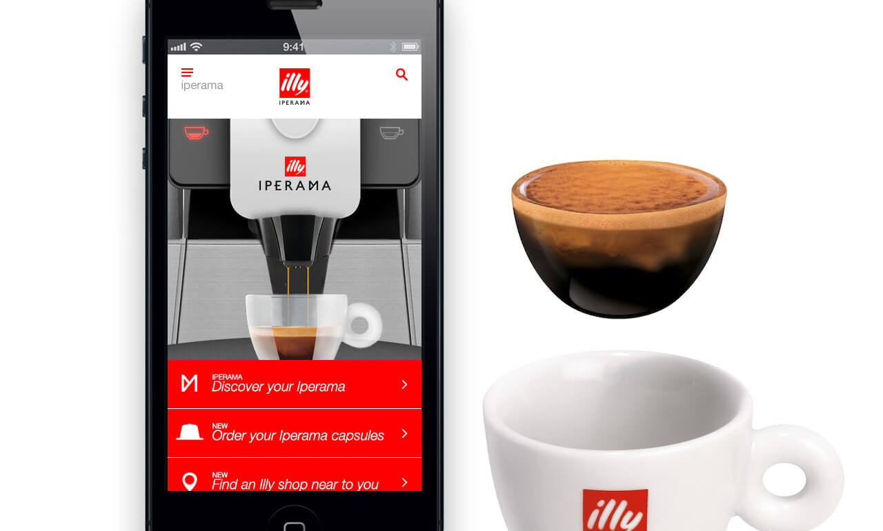 IPERAMA by illy – Coffee capsule machine